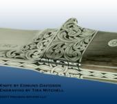 Tira Engraved Edmund Davidson Knife