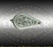 Loupe with Scrollwork and Background Removed