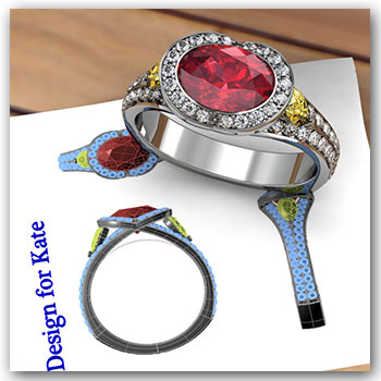 CAD Designed Ring