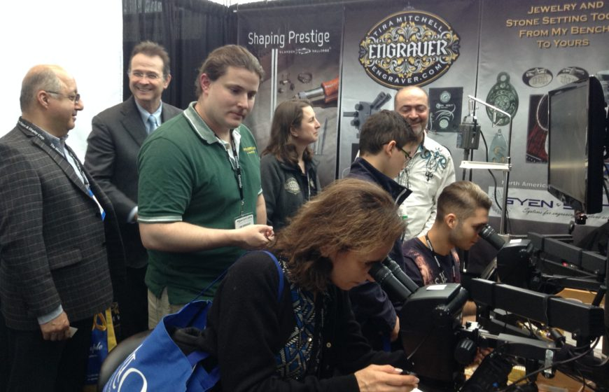 Engraver.com Booth at MJSA