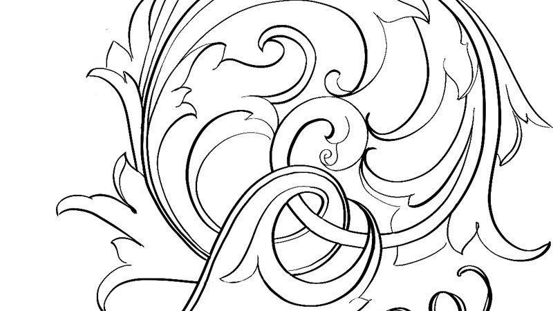 Scroll Pattern by Tira