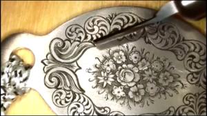 Tira teaches engraving