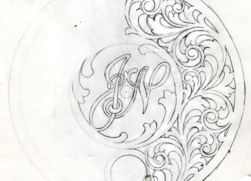 Scroll Design for Engraving by Christian DeCamillis On-Line Course