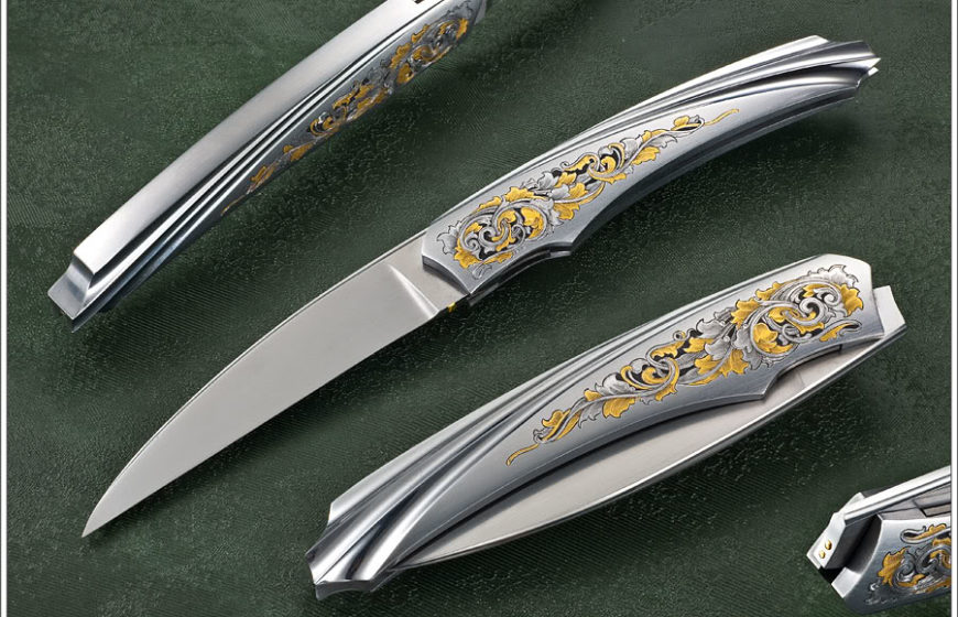 Engraved Tuch Knife
